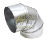 90 degree steel elbow Ducting connector