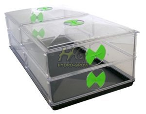 Vitopod double legnth & layer unheated propagator