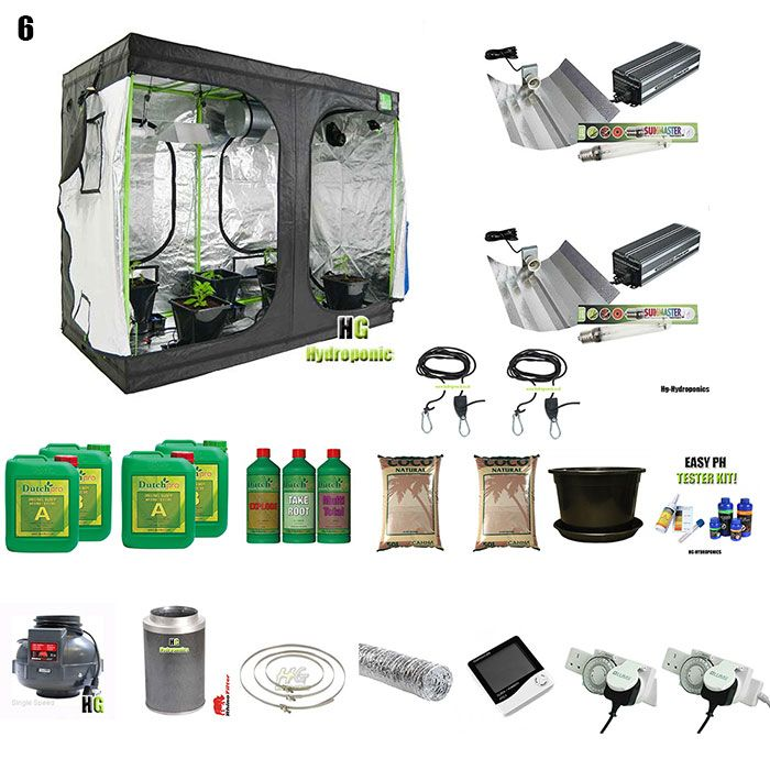1200w Grow Tent Package
