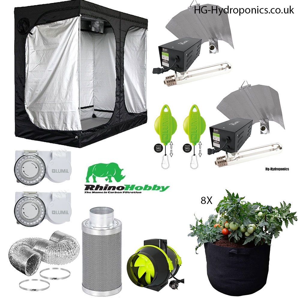 1200w HG Value Grow Tent Package