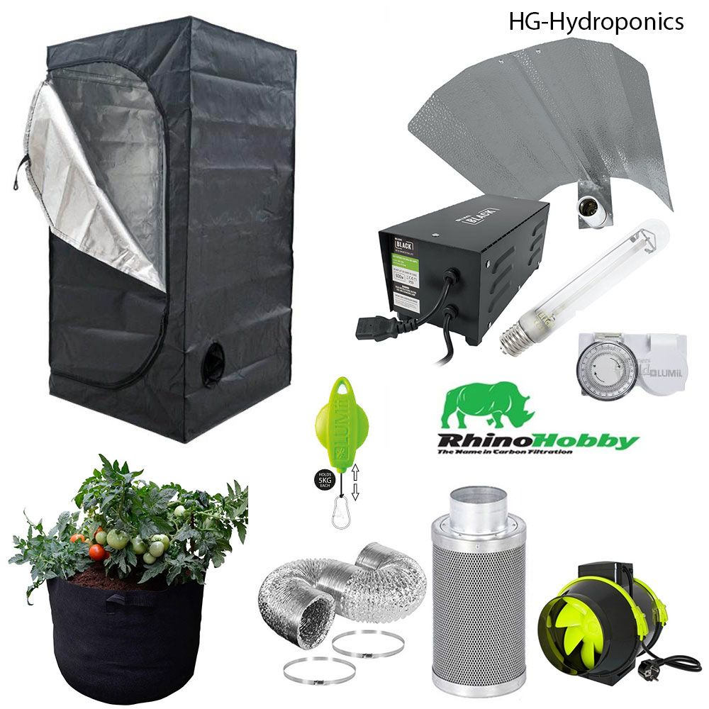 600w  HG Value  Grow Tent Package