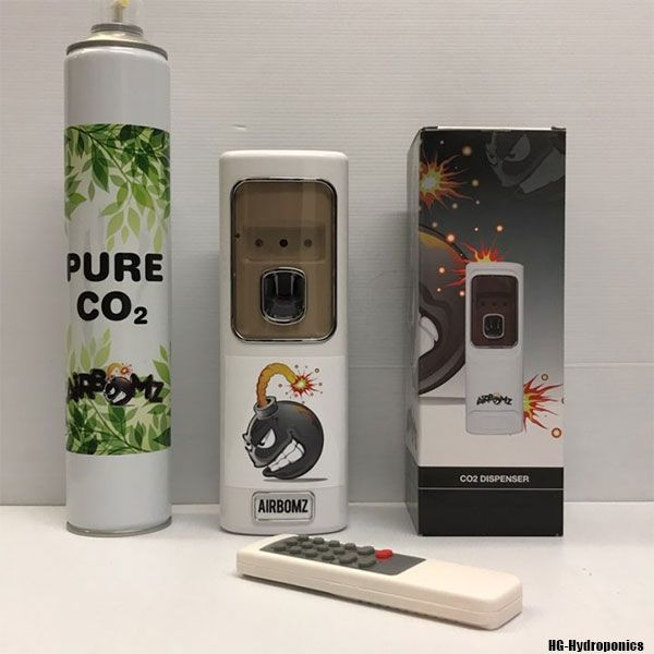 AirBomz Remote Control Co2 Dispenser + Cannister