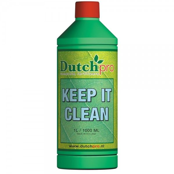 Dutch Pro Keep it clean