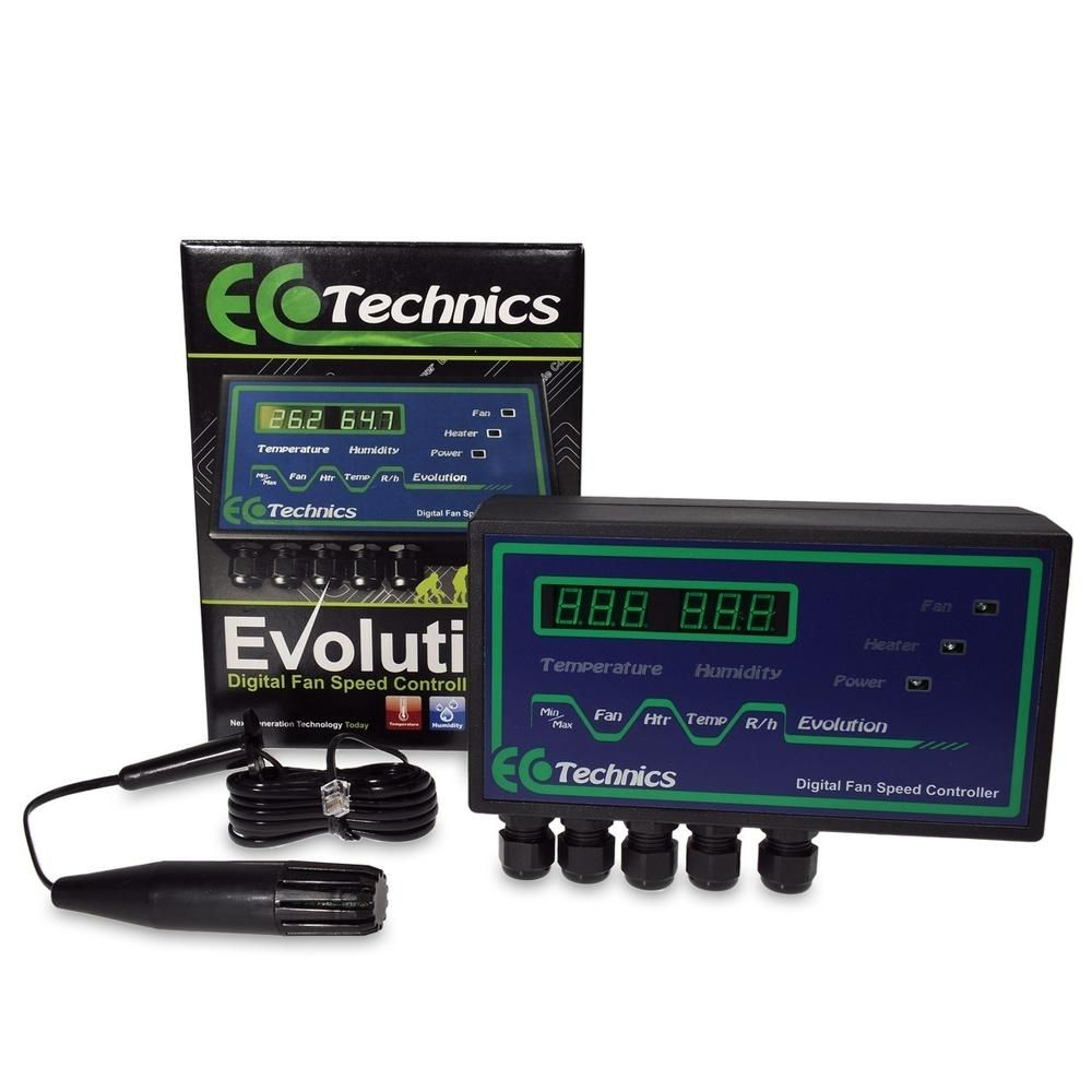 Ecotechnics Evolution Temperature & Humidity Controller