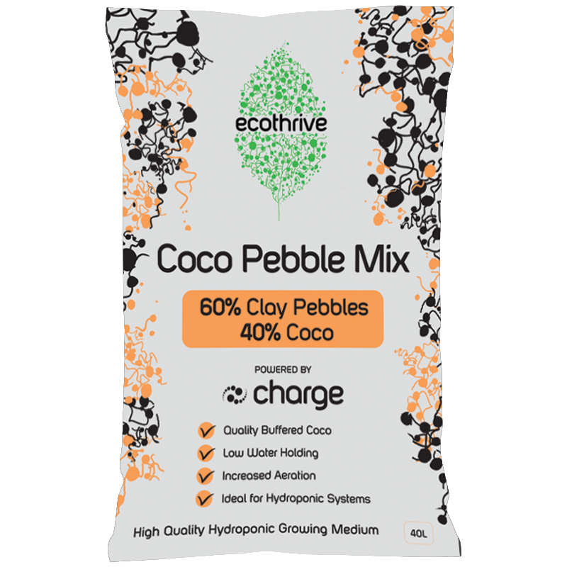 Ecothrive  COCO Clay Mix - 60/40 mix clay/coco 40L