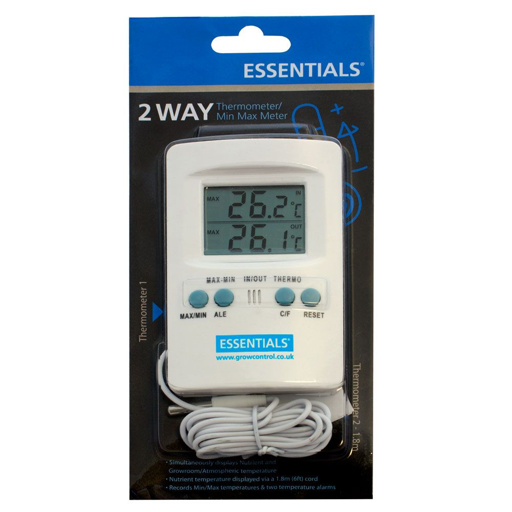 Essentials Digital 2 Way Thermometer