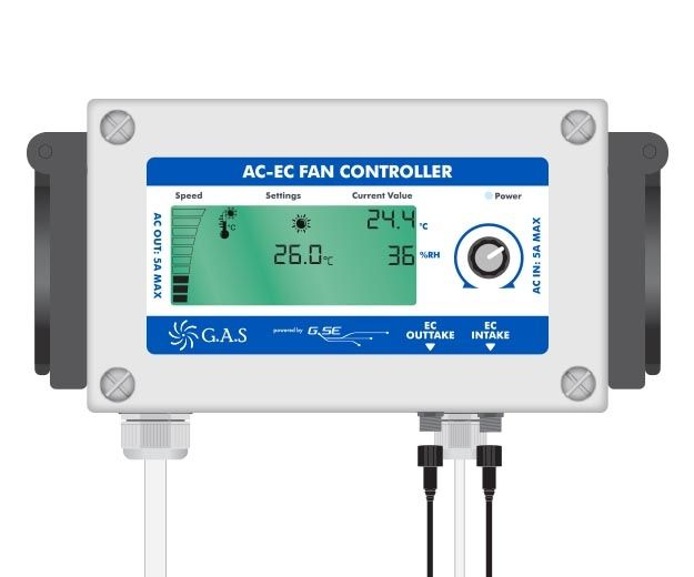 Gas AC-EC Digital Fan Controller
