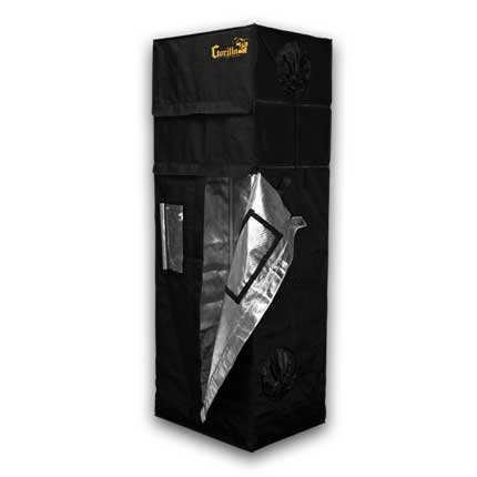 Gorilla Grow Tent 60cm x 80cm - 2ft′ X 2.5′ X 5,11″
