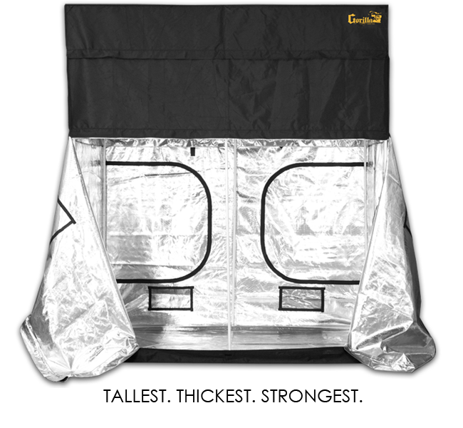 Gorilla Grow Tent 8 x 8 x 6ft 11