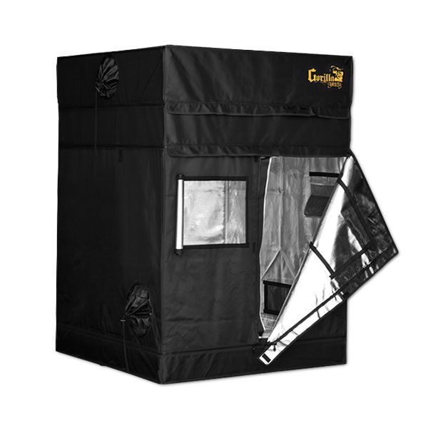 Gorilla SHORTY Grow Tent - 120x120cm - 4ft x 4ft