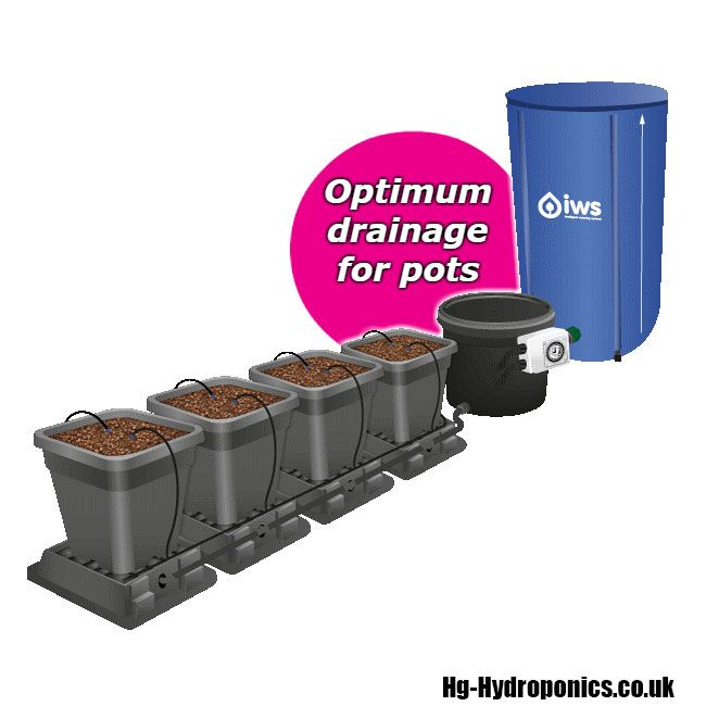 IWS Auto Drain 6 Pot Kit