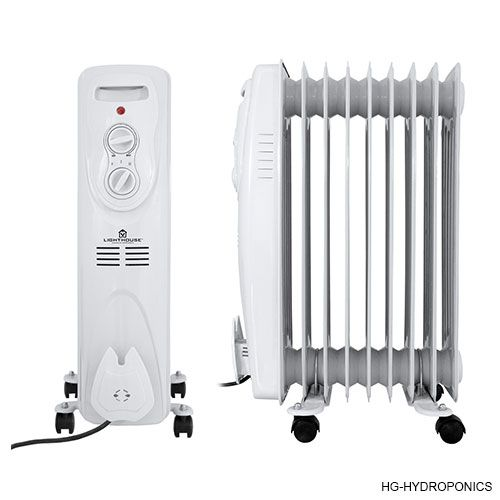 Lighthouse oil filled radiator - 2000w