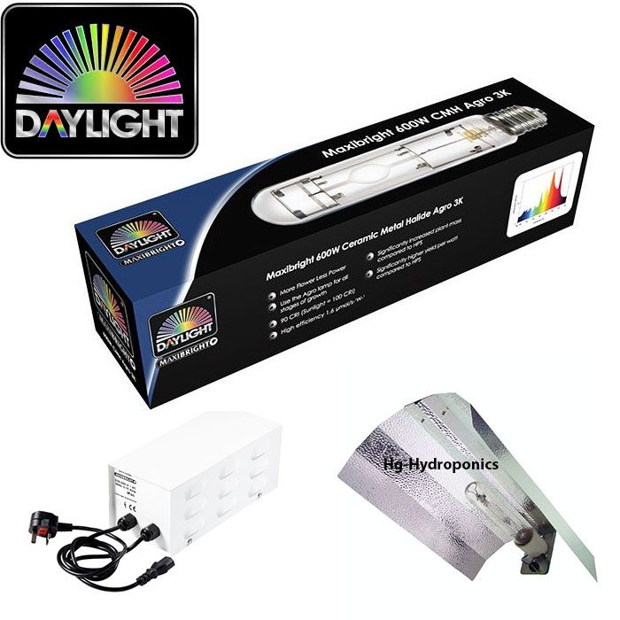 Maxibright 600w Daylight CMH Euro Kit