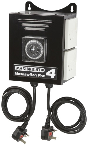 Maxibright MaxiSwitch Pro 4 way Contactor