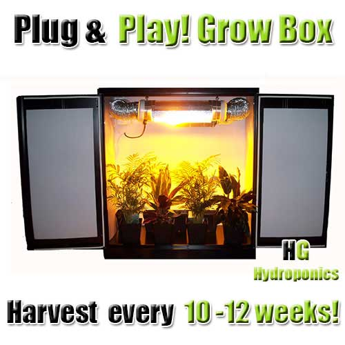 Mini Stealth Grow Cabinet - HPS V2