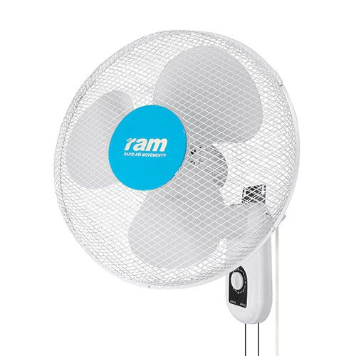 "RAM 16"" 400mm Wall Fan."