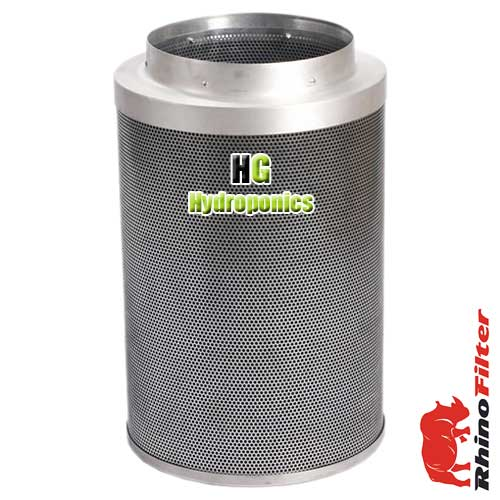 "Rhino Pro Carbon Filter 100mm 4"" 350 m/3"