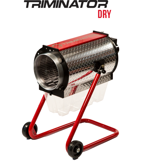 Triminator - DRY Leaf Trimming machine.
